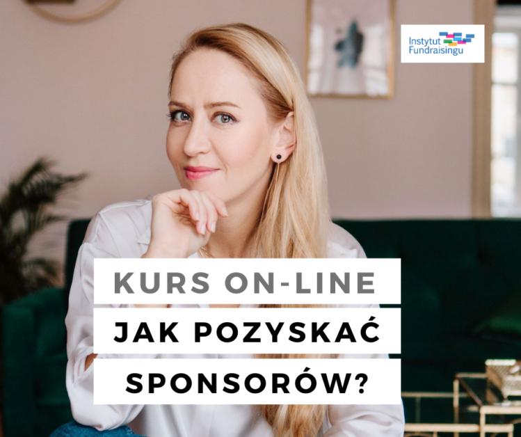 jak pozyskać sponsorów kurs online z fundraisingu